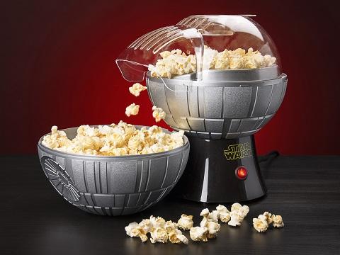 Popcornmaskin à la Dødsstjernen fra Star Wars