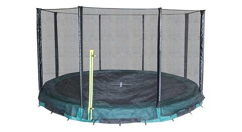 Trampoline for nedgravning