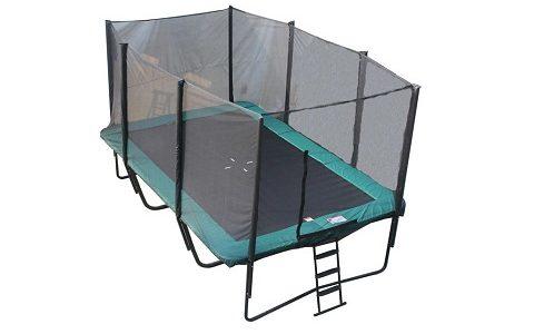 Firkantet trampoline 5x3m (Best til prisen)