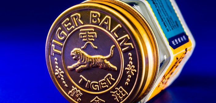 Tigerbalsam og varmekrem